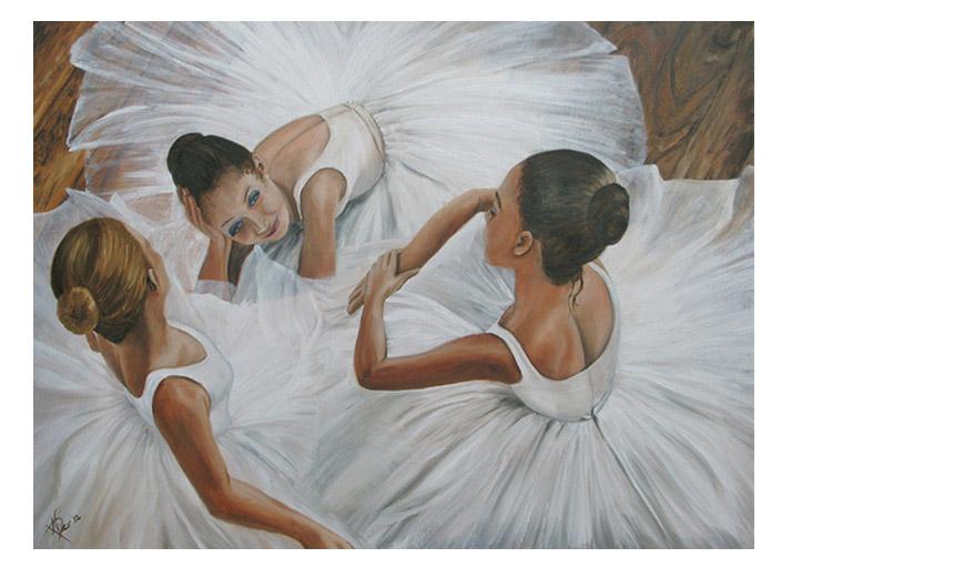 La conversazione delle tre ballerine